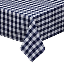 Load image into Gallery viewer, Nautical & White Checkers Tablecloth - the-southern-magnolia-too