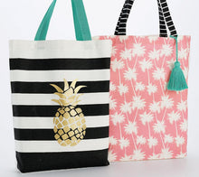Load image into Gallery viewer, Summer Canvas Tote Set - the-southern-magnolia-too