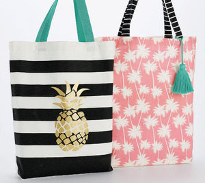 Summer Canvas Tote Set - the-southern-magnolia-too