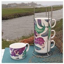 Load image into Gallery viewer, Mermaid Stacking Mug Set - the-southern-magnolia-too
