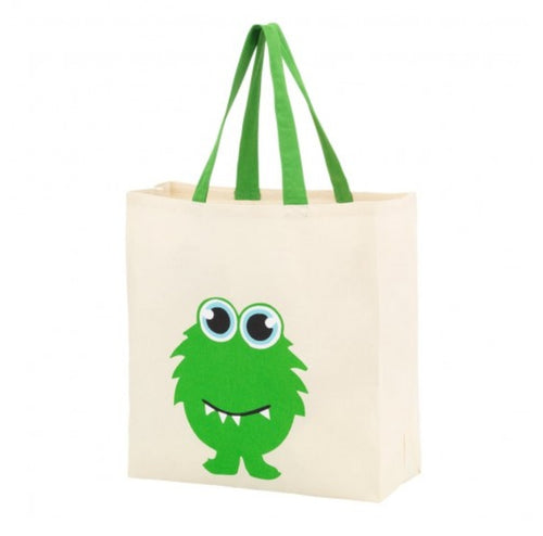 Monster Canvas Tote - the-southern-magnolia-too