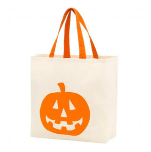 Jack-O-Lantern Canvas Tote - the-southern-magnolia-too