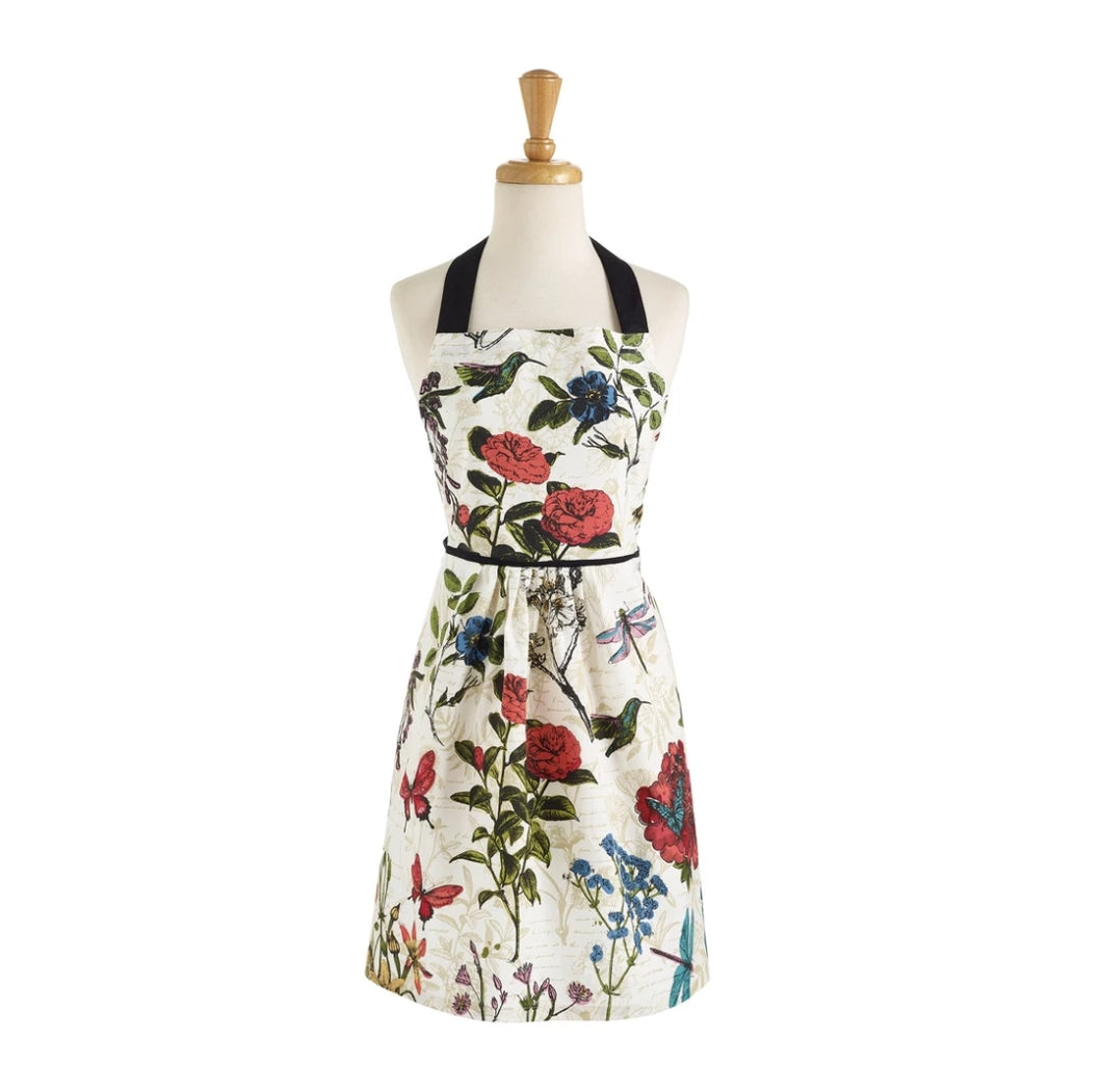 Botanical Blooms Printed Apron - the-southern-magnolia-too