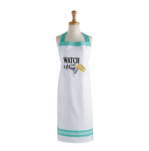 Watch Me Whip Printed Apron - the-southern-magnolia-too