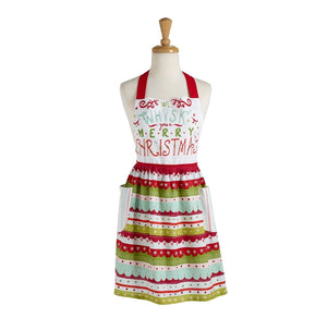 Whisk Merry Xmas Apron - the-southern-magnolia-too