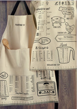 Load image into Gallery viewer, Measure Up Printed Chefs Apron - the-southern-magnolia-too