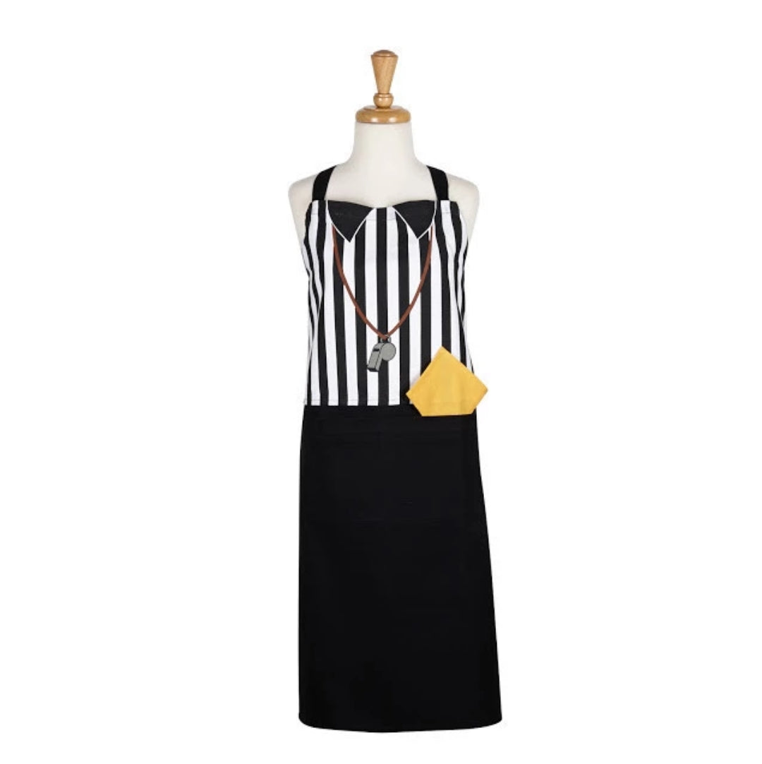 Referee Printed Football Apron - the-southern-magnolia-too