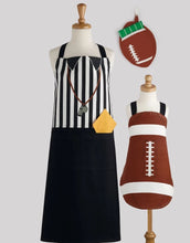 Load image into Gallery viewer, Referee Printed Football Apron - the-southern-magnolia-too