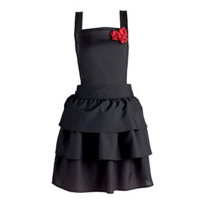 Ruffles & Red Roses Vintage Apron - the-southern-magnolia-too