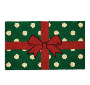 Wrapped Present Doormat - the-southern-magnolia-too