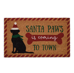Santa Paws Doormat - the-southern-magnolia-too