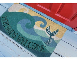 Mermaid Welcome Rug Mat Doormat - the-southern-magnolia-too