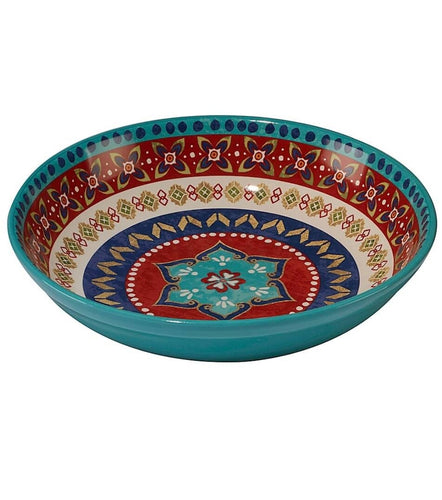 Southwestern Certified International Monterrey Pasta Serving Bowl - the-southern-magnolia-too