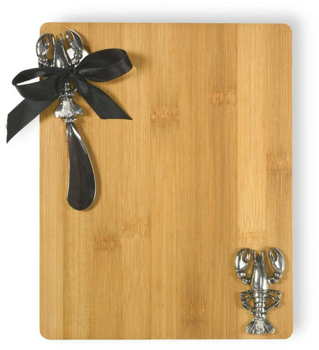 Bamboo Cutting Board with Lobster - the-southern-magnolia-too