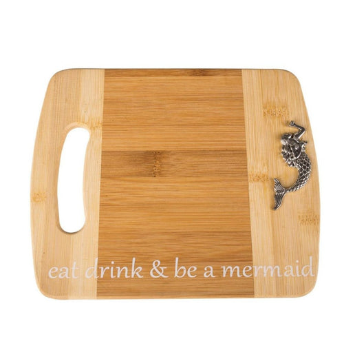 Cutting Board with Mermaid - the-southern-magnolia-too
