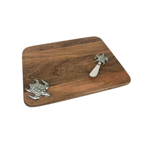 Turtle Cutting Board and Knife Set - the-southern-magnolia-too