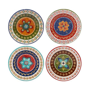 Southwestern Monterrey Multi-Colored Dinner Plate - the-southern-magnolia-too