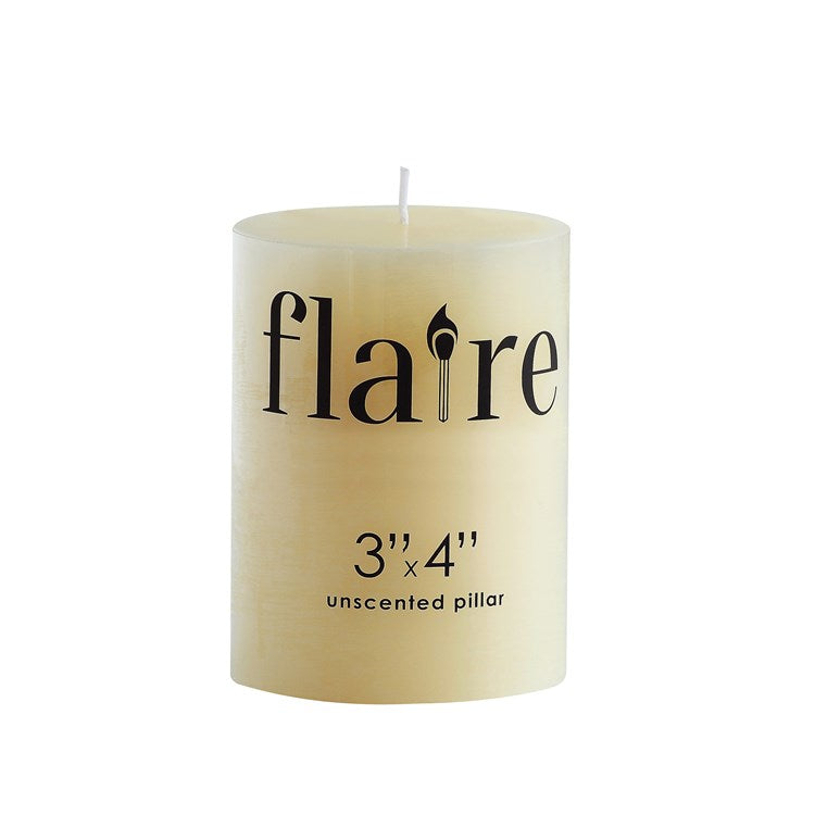 Unscented Pillar Candle - the-southern-magnolia-too