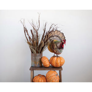 Handmade Natural Palm Turkey Centerpiece - the-southern-magnolia-too