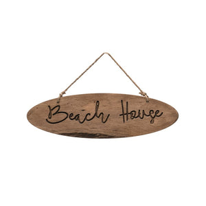 Wood Wall Beach House Wall Hanging Sign***Available in January*** - the-southern-magnolia-too