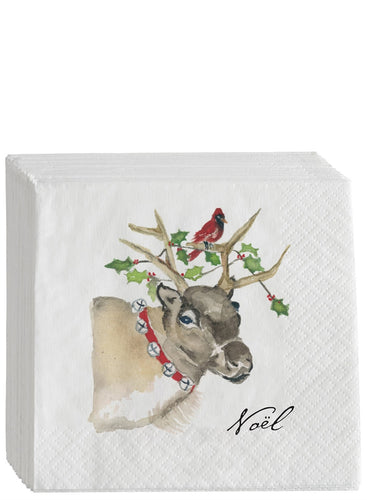 Reindeer Disposable Napkin Set - the-southern-magnolia-too