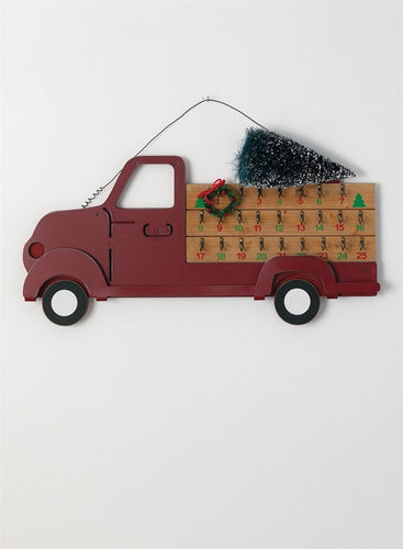 Red Truck Advent Christmas Calendar - the-southern-magnolia-too