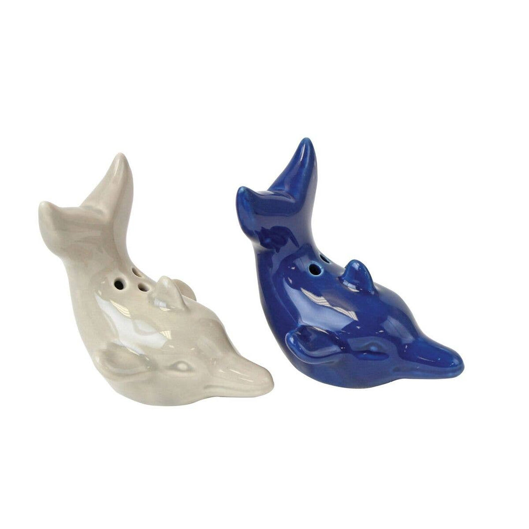 Dolphin Salt & Pepper Shakers Set - the-southern-magnolia-too