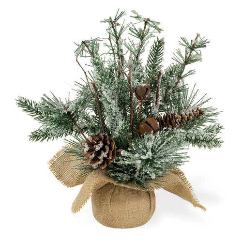 Frosted Small Christmas Tree Arrangement - the-southern-magnolia-too