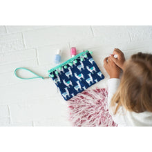 Load image into Gallery viewer, Wristlet Handbag Zipper Pom-poms Purse - the-southern-magnolia-too