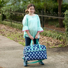 Load image into Gallery viewer, Travel Weekender Overnight Bag - the-southern-magnolia-too