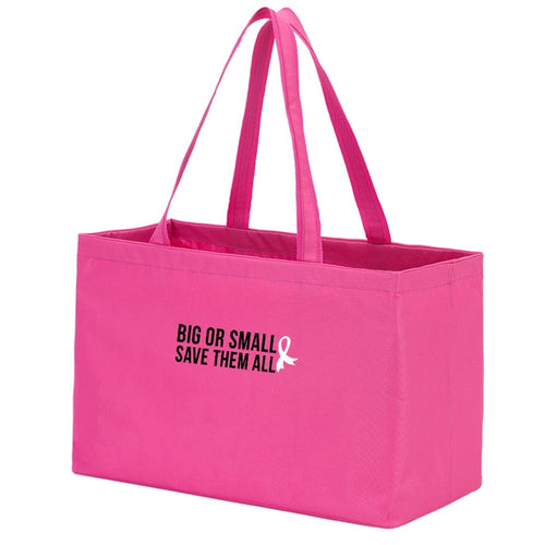 Big Or Small, Save Them All Hot Pink Ultimate Tote - the-southern-magnolia-too