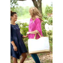 Load image into Gallery viewer, Large Cabana Tote - the-southern-magnolia-too