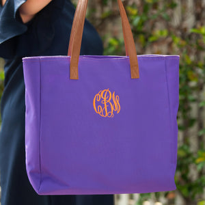 Monogram Tote Bag Purse - the-southern-magnolia-too