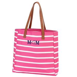 Striped Tote Bag Purse - the-southern-magnolia-too