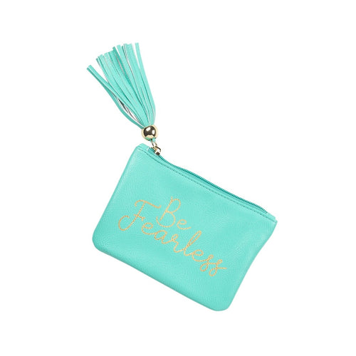 Mint Be Fearless Coin Purse - the-southern-magnolia-too