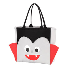 Load image into Gallery viewer, Halloween Candy Character Tote Bag - the-southern-magnolia-too