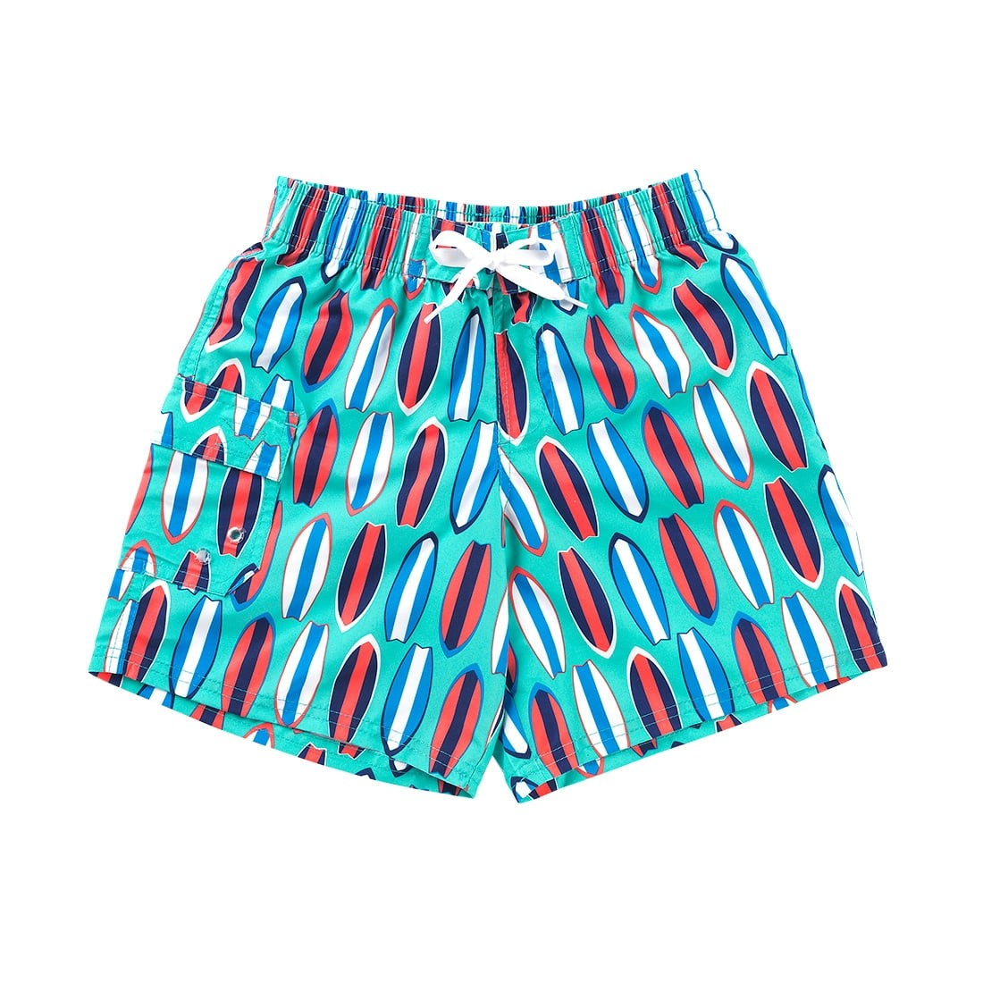 Wave Rider Boy's or Girl's Swim Trunks Suit Cover Beach Shorts - the-southern-magnolia-too