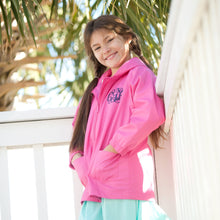 Load image into Gallery viewer, Child Kids' Hot Pink Rain Jacket Girl Boy Toddler - the-southern-magnolia-too