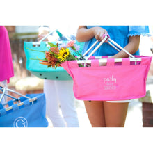Load image into Gallery viewer, Party Like A Survivor Hot Pink Market Tote - the-southern-magnolia-too