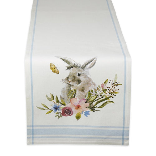 Garden Bunny Printed Table Runner - the-southern-magnolia-too