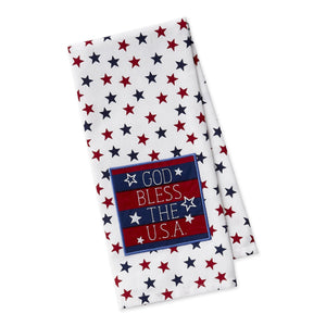 God Bless America Liberty Dishtowel - the-southern-magnolia-too