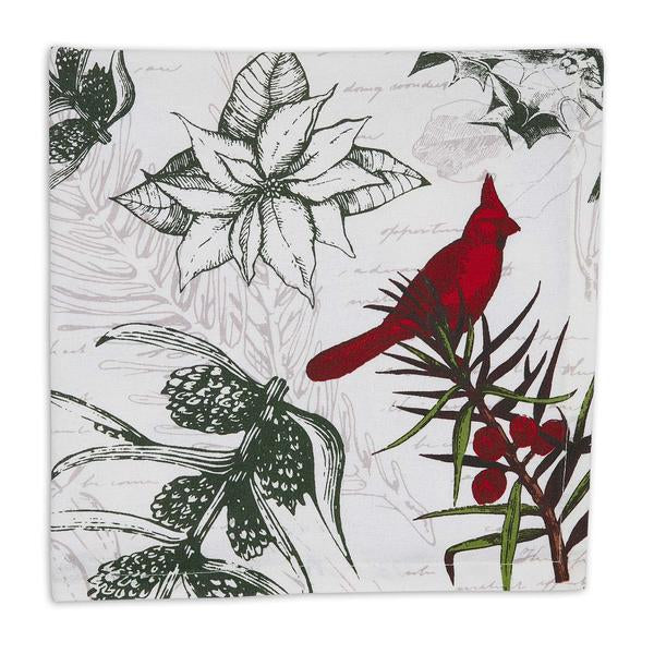 Holiday Botanical Printed Napkin Set - the-southern-magnolia-too