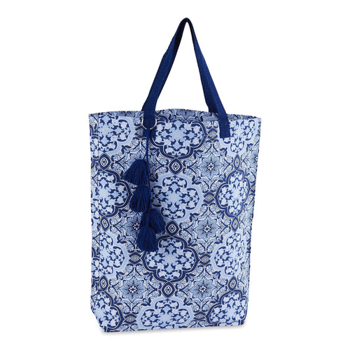 Sintra Printed Market Beach Bag Tote - the-southern-magnolia-too