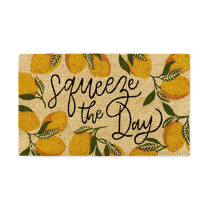 Lemon Squeeze the Day Doormat - the-southern-magnolia-too