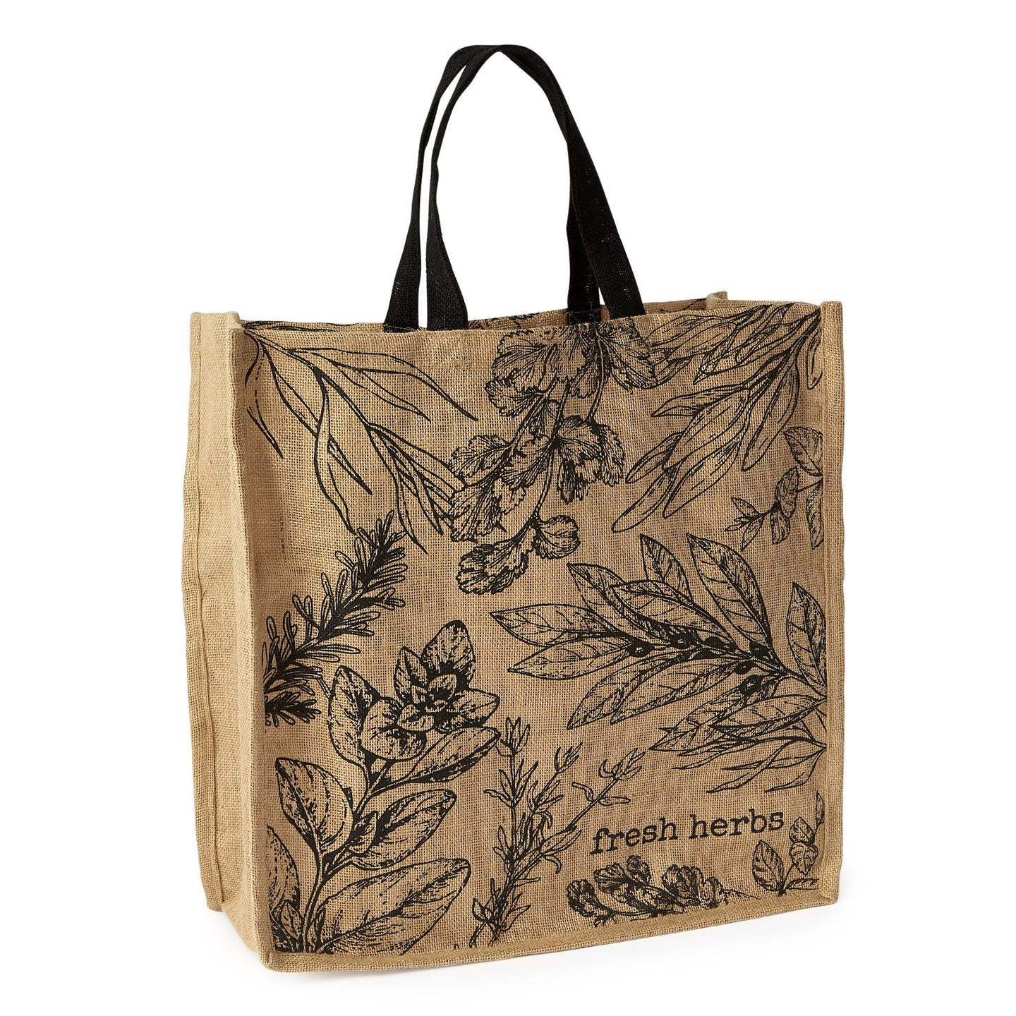 Fresh Herbs Printed Tote - the-southern-magnolia-too