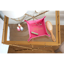 Load image into Gallery viewer, Vegan Leather Trinket Travel Tray - the-southern-magnolia-too