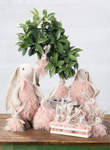 Load image into Gallery viewer, Pink Fluffy Bunny Rabbit Ornament - the-southern-magnolia-too