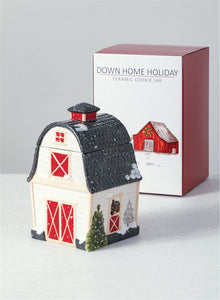Down Home Holiday Cookie Jar - the-southern-magnolia-too