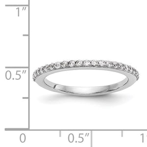 White Gold Diamond Wedding Band - the-southern-magnolia-too