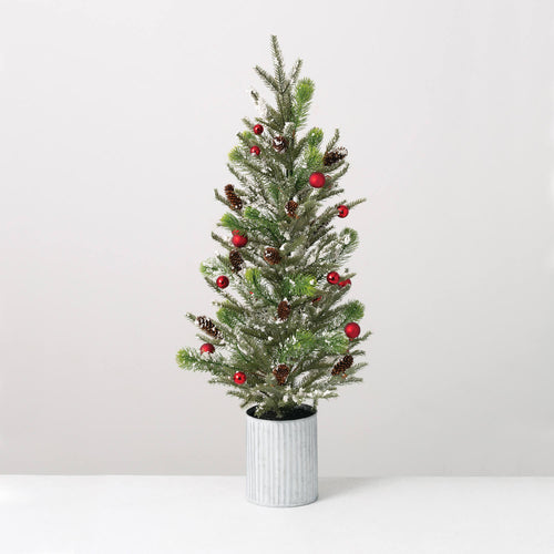 Decorated Small Artificial Christmas Tree - the-southern-magnolia-too
